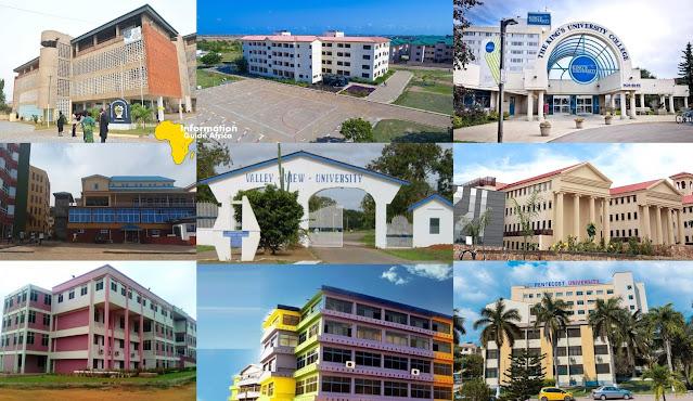 Cheapest Universities In Ghana