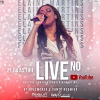 Notícias Gospel - Hoje tem Live da cantora Elaine Martins