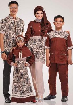 baju couple muslim modern keluarga
