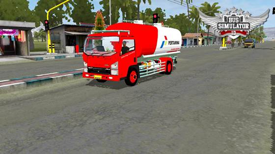 Mod Truck Tangki Isuzu NMR 71