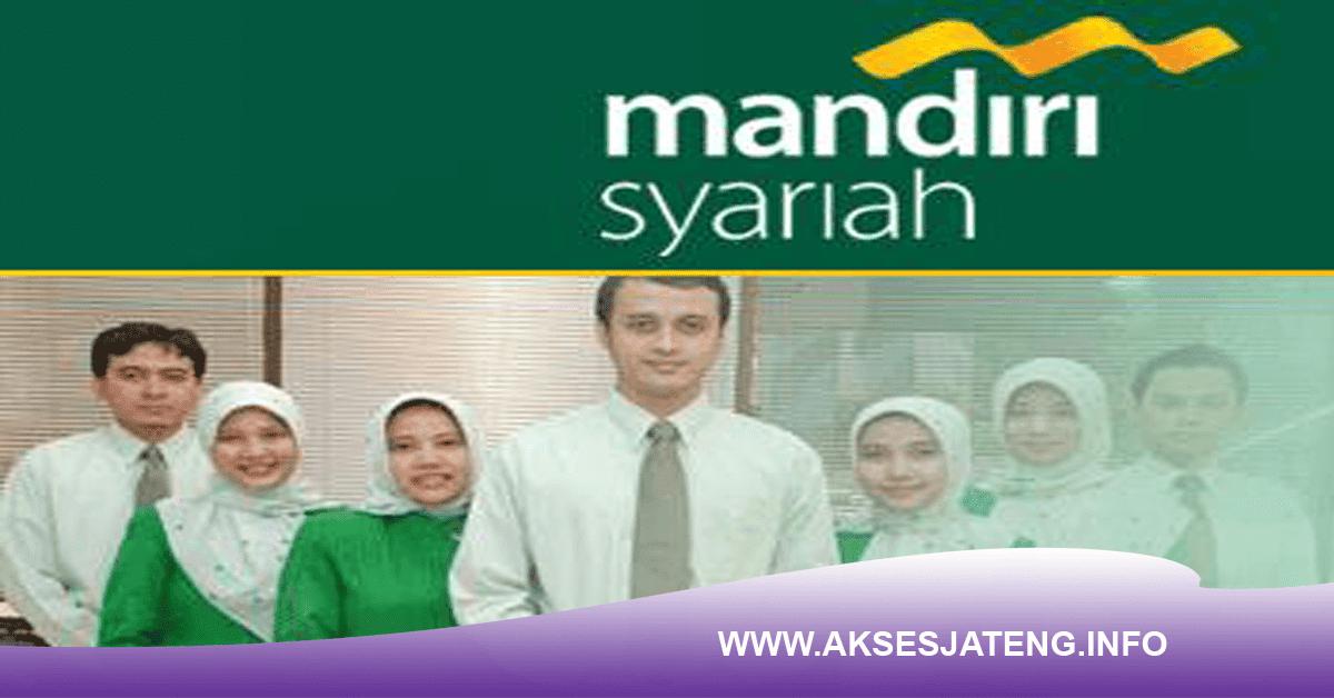 Lowongan PT Bank Syariah Mandiri Ungaran Semarang Januari 2018