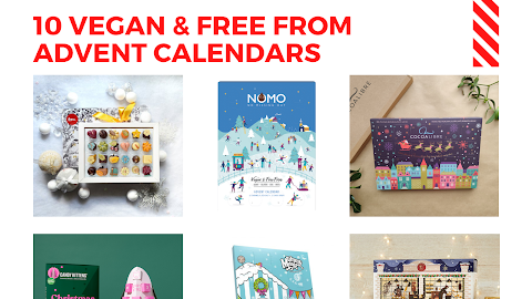 10 Vegan And Free From Advent Calendars For 2020 Sugarpuffish