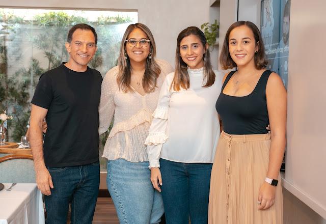 Michele Marsicoverete, María Teresa González, Gabriela García y Loren Medrano
