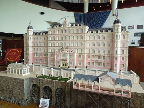 Grand Budapest Hotel original movie model