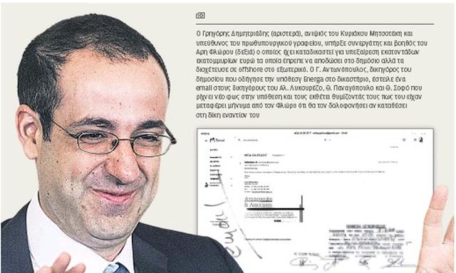 Ο πρωθυπουργικός ανιψιός, οι σχέσεις με το Φλώρο και το αποκαλυπτικό mail