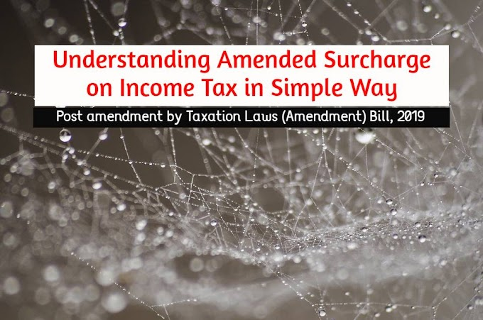 Understanding Amended Surcharge on Income Tax