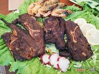 Laziz Filipino Mediterranean Cuisine, Antipolo, bbq lamb chops and grilled shrimps