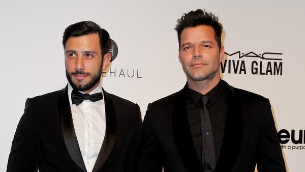 Ricky Martin telah menikah dengan sesama jenis