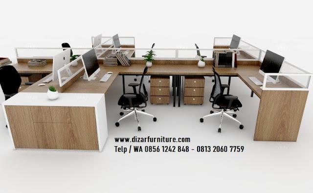 Meja erja staff kantor,meja kerja partisi kantor,Meja kerja cubicle custome