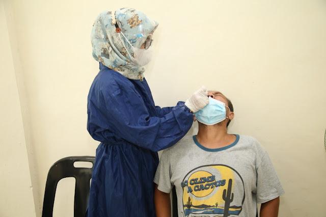 Rapid Test Antigen Massal Dilakukan di Rusun BP Batam Bida Ampar