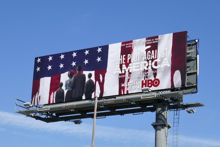 Plot Against America series billboard