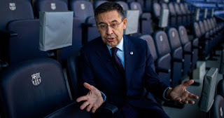 Barcelona President Bartomeu accused of corruption by Catalan police force