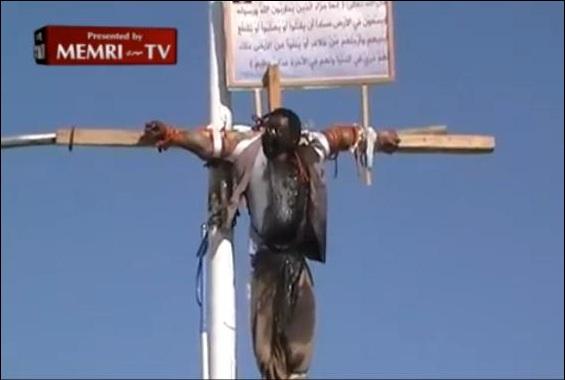 les persécutions de juillet 2019 Memri-crucifixion-lg