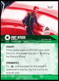 Equip card: First Officer