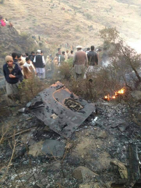 PIA PK-661 No Survivors, Aircraft Crashes Near Abbottbad (5)