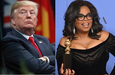 Trump Speaks On Trashing Out Oprah In 2020