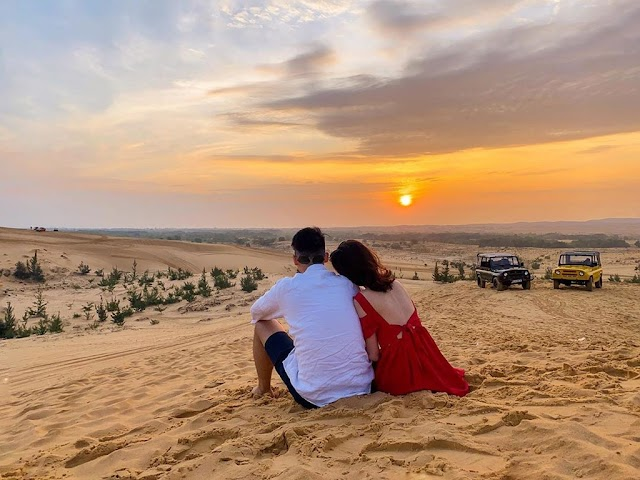 Fascinated with the beauty of 4 sand dunes in the Central Vietnam