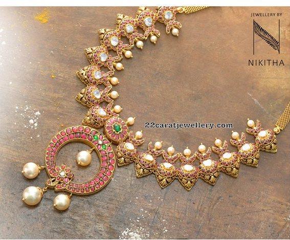 Pachi Work Trendy Sets by Nikitha Linga
