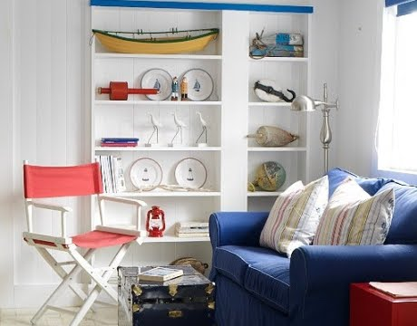Cozy Living Room Color Palette Simple Curtains Nautical Nordic Decor Style In A Newfoundland Seaside ...