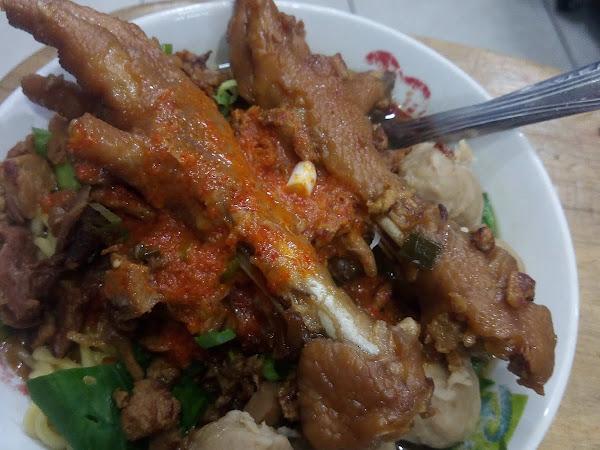 Mie ayam Djakarta (di Balikpapan)
