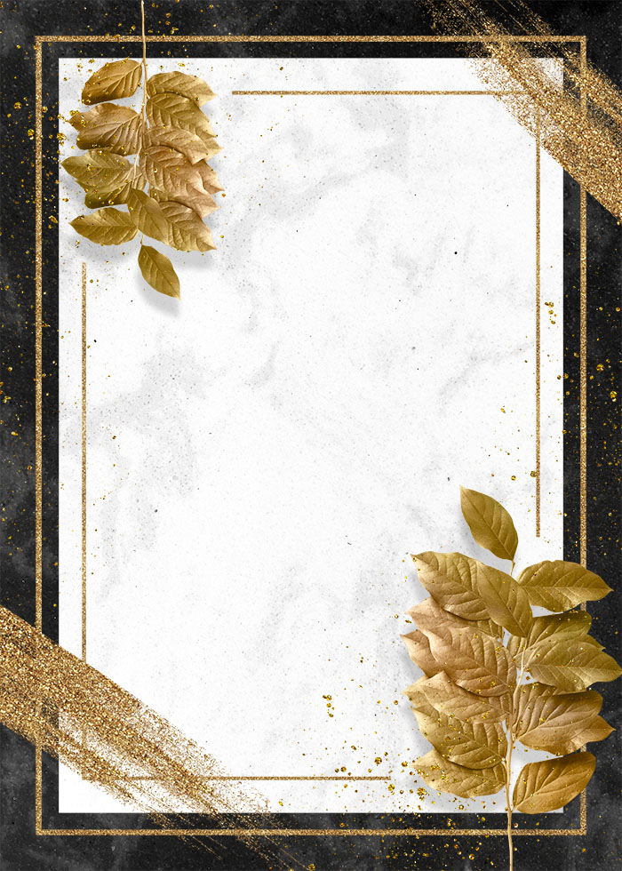 Golden Granular Gold Foil Brush Editable PSD