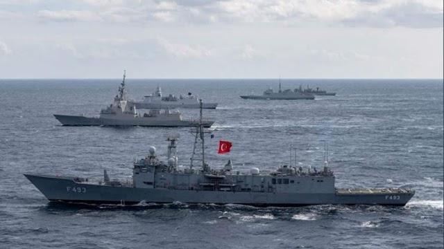 """Ανεβαίνει το """"θερμόμετρο"""": 87 πολεμικά πλοία σε Αιγαίο-Μεσόγειο βγάζει η Τουρκία για την άσκηση Γαλάζια Πατρίδα"""