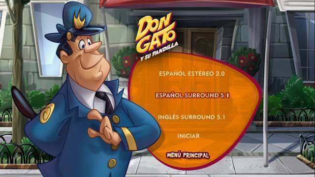 Don Gato y Su Pandilla 2011 DVDR Menu Full