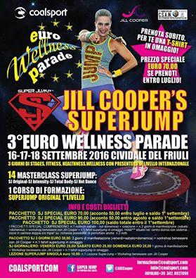 Jill Cooper's Superjump alla Euro Wellness Parade, 16-17-18 settembre 2016  a Cividale Del Friuli, Udine