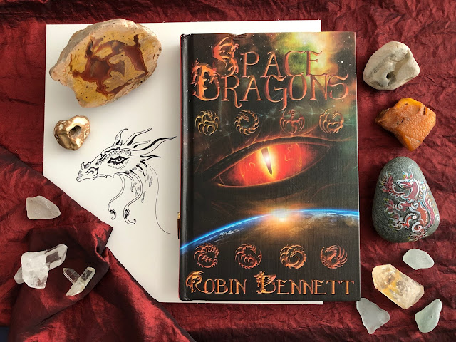 YA books about dragons, books about space travel