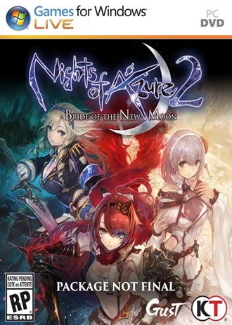 Nights of Azure 2: Bride of the New Moon PC Full