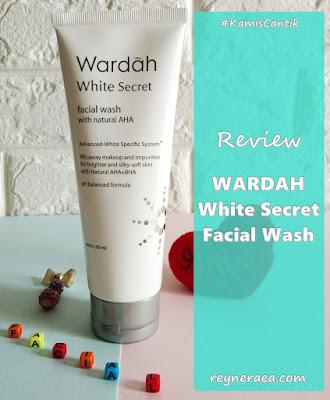 artikel populer reyneraea review wardah secret facial wash