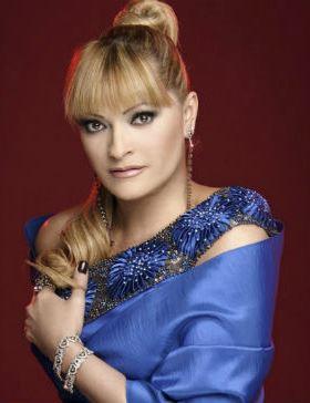 Foto de Rocío Banquells con lindo peinado