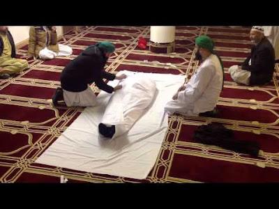 The Way of Giving Muslim Burial Shroud