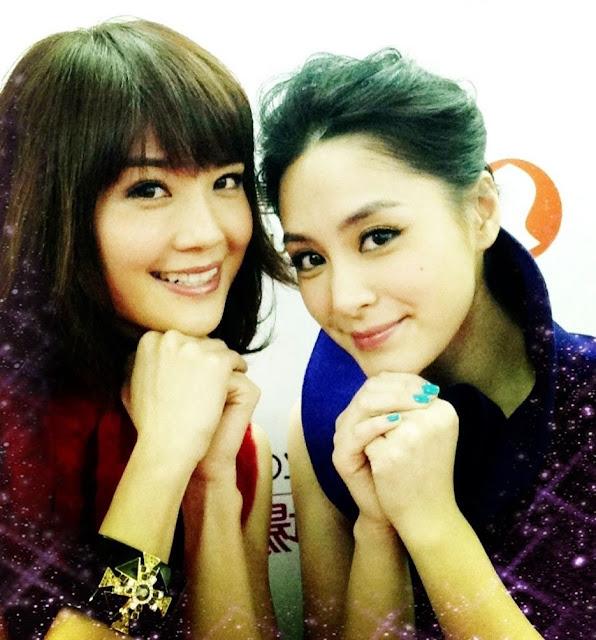 Gillian Chung Charlene Choi Twins