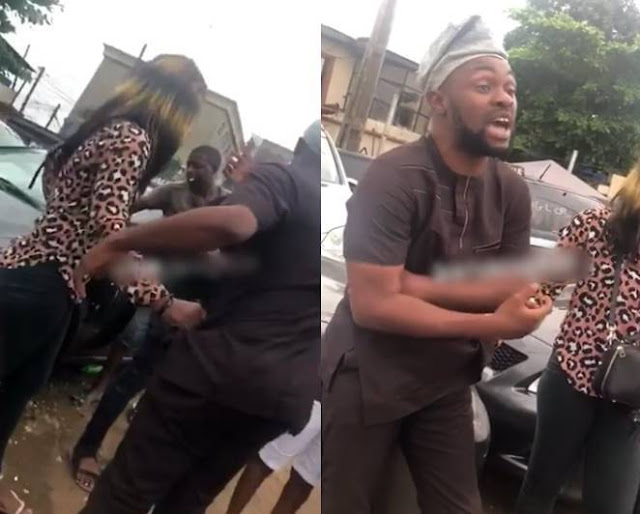 Image result for Man Publicly Disgraced By A Prostitute In Lagos Following A Disagreement Over Money.