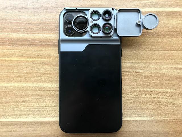 黒い扩充镜头手机壳评测:提升 iPhone 11 Pro 拍摄效果 集长焦、微距、鱼眼、泸镜于一身  科技新闻 第31张