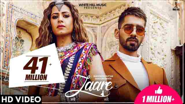 LAARE LYRICS IN ENGLISH Maninder Buttar Sargun Mehta
