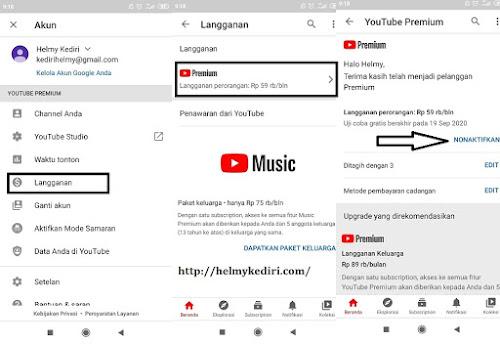 Cara mendapat layanan youtube premium3