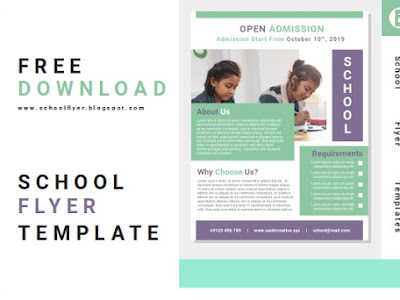 Free School Admission Flyer Templates Word Docs Fully Editable File