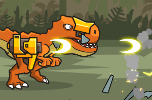 CyberDino-T-Rex-vs-Robots