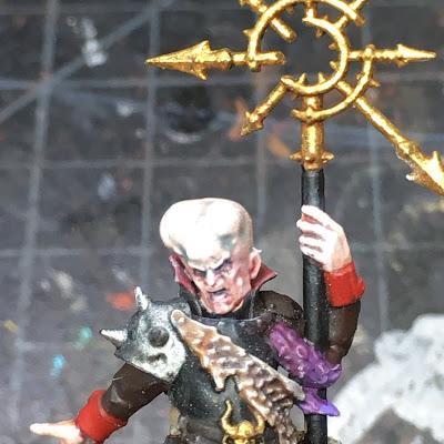 Blackstone Fortress Rogue Psyker WIP