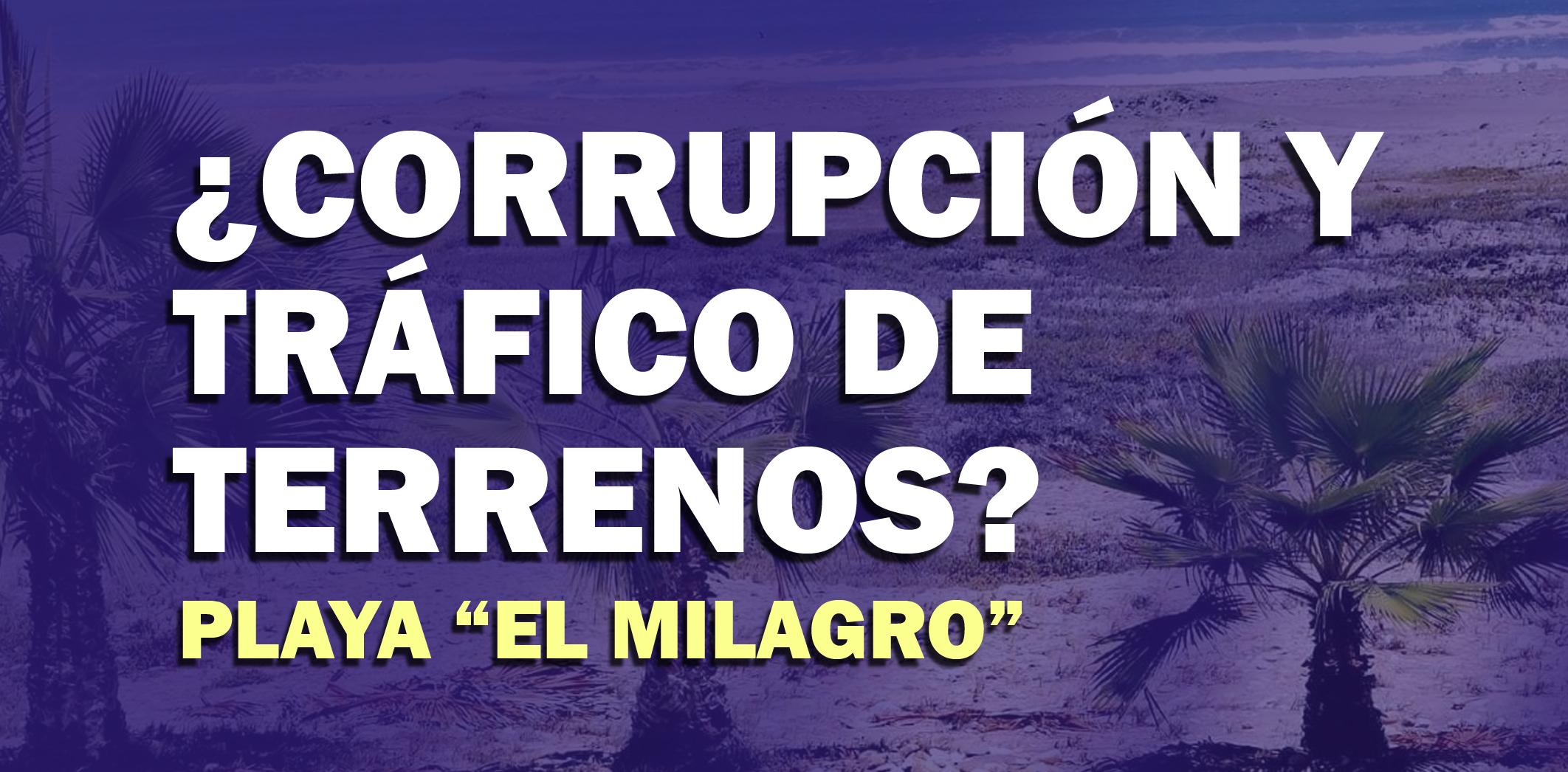 Corrupción y tráfico de terrenos en Ascope