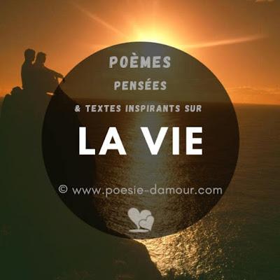 Sublimes poèmes sur la Vie qui vont vous inspirer