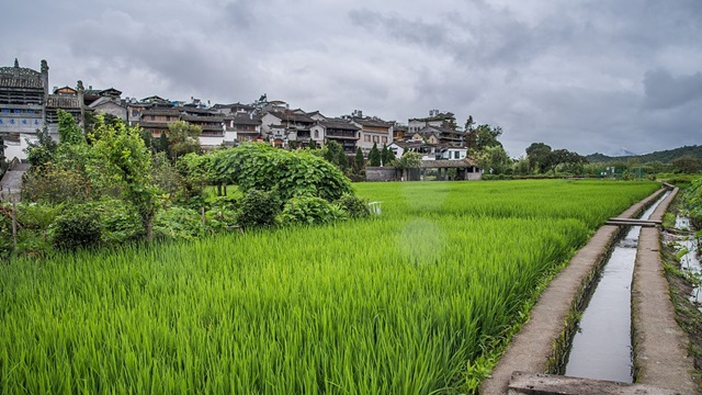เมืองโบราณเหอซุ่น (Heshun Ancient Town: 和顺镇)