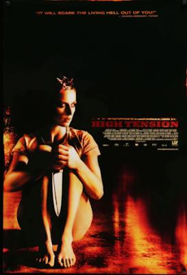 Poster film horor Haute Tension (2003)