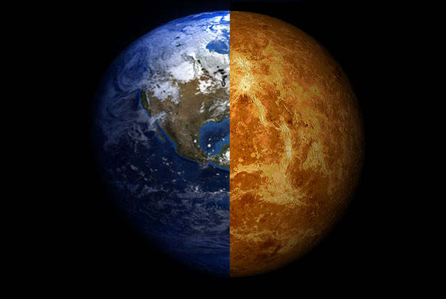 Lush Venus? Searing Earth? It could have happened