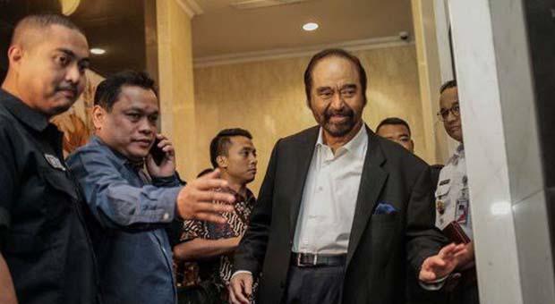 Apa Masalah Dengan Megawati? Ini Jawaban Singkat Surya Paloh
