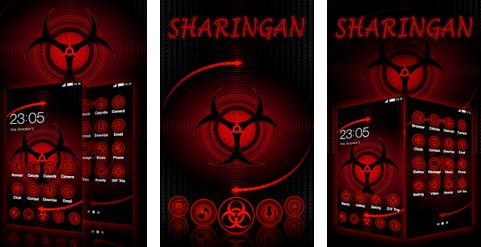 Tema Mata Sharingan Naruto Android
