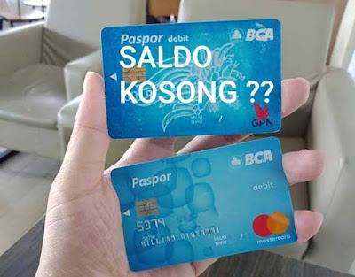 Saldo ATM BCA 0 : Risiko dan Biaya Tambahan Jika Saldo ATM BCA 0