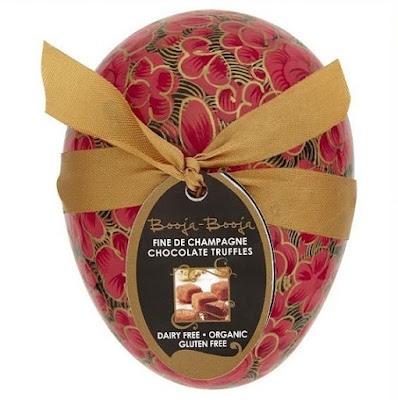 Organic Champagne Truffle Egg, Booja Booja - from £9.99
